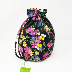 VERA BRADLEY Ditty bag wet swimsuit beach pouch